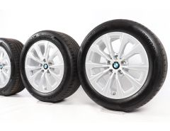 BMW Sommerkompletträder 3er G20 G21 17 Zoll Styling 775 V-Speiche