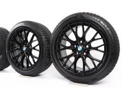 BMW Velgen met Winterbanden 3 Serie F30 F31 4 Serie F32 F33 F36 18 Inch Styling 405 M Doppelspeiche