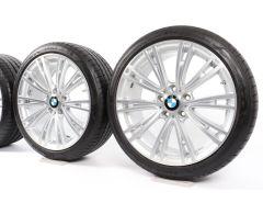 BMW Sommerkompletträder 3er F30 F31 4er F32 F33 F36 19 Zoll Styling 626 V-Speiche