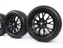 BMW Velgen met Winterbanden 3 Serie F34 18 Inch Styling 405 M Doppelspeiche