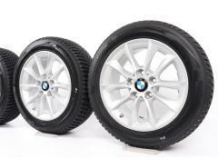BMW Winterkompletträder 1er F20 F21 2er F22 F23 16 Zoll Styling 411 V-Speiche