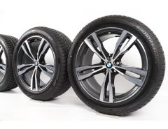 BMW Winter Wheels X7 G07 21 Inch Styling 754 M Doppelspeiche