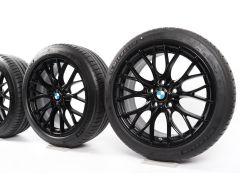 BMW Summer Wheels 3 Series F30 F31 4 Series F32 F33 F36 18 Inch Styling 405 M Double-Spoke