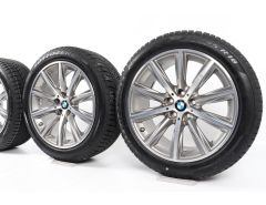 BMW Winter Wheels 5 Series G30 G31 18 Inch Styling 684 V-Speiche