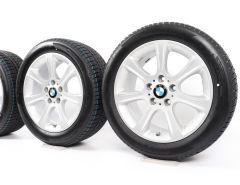 BMW Velgen met Winterbanden 3 Serie F30 F31 4 Serie F32 F33 F36 17 Inch Styling 394 Sternspeiche