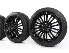 MINI Velgen met Winterbanden F55 F56 F57 17 Inch Styling Tentacle Spoke 500