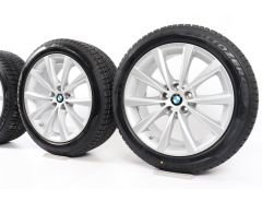 BMW Winter Wheels 5 Series G30 G31 18 Inch Styling 642 V-Speiche