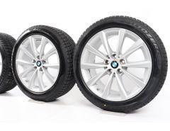 BMW Velgen met Winterbanden 6 Serie G32 7 Serie G11 G12 18 Inch Styling 642 V-Speiche