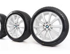 BMW Winterkompletträder 5er G30 G31 8er G14 G15 18 Zoll Styling 642 V-Speiche
