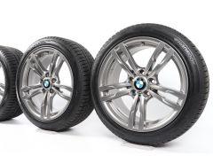 BMW Velgen met Winterbanden 3 Serie F30 F31 4 Serie F32 F33 F36 18 Inch Styling 441 M Doppelspeiche