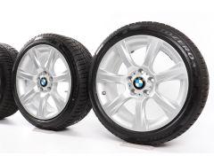 BMW Winterkompletträder 3er F30 F31 4er F32 F33 F36 18 Zoll Styling 396 Sternspeiche