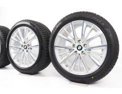 BMW Winterkompletträder 6er G32 7er G11 G12 18 Zoll Styling 643 W-Speiche