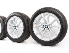 BMW Winterkompletträder X6 F16 19 Zoll Styling 594 V-Speiche