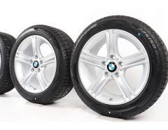 BMW Velgen met Winterbanden 3 Serie F30 F31 4 Serie F32 F33 F36 17 Inch Styling 393 Sternspeiche