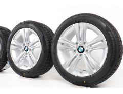 BMW Velgen met Winterbanden 3 Serie F30 F31 4 Serie F32 F33 F36 17 Inch Styling 392 Doppelspeiche