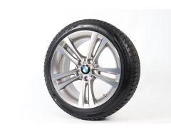 BMW Velgen met Winterbanden 3 Serie F30 F31 4 Serie F32 F33 F36 18 Inch Styling 397 Doppelspeiche