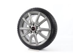 MINI Velgen met Winterbanden F55 F56 F57 18 Inch Styling JCW Double Spoke 534