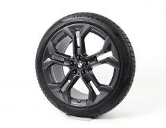 BMW Winterkompletträder X5 G05 X6 G06 21 Zoll Styling 744 Y-Speiche