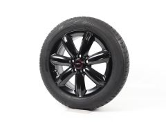 MINI Velgen met Winterbanden F60 Countryman 17 Inch Styling Star Spoke 539