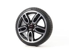 MINI Velgen met Winterbanden F55 F56 F57 18 Inch Styling JCW Cup Spoke 2-Tone 509
