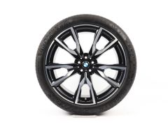 BMW Summer Wheels X7 G07 22 Inch Styling 755 M V-Speiche