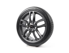 MINI Velgen met Winterbanden R60 Countryman R61 19 Inch Styling R129 JCW Double Spoke