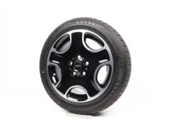 MINI Winterkompletträder R60 Countryman R61 17 Zoll Styling 138 5-Hole Black Star