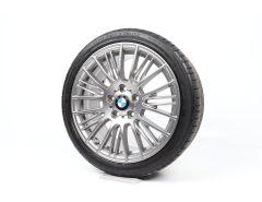BMW Velgen met Zomerbanden 1 Serie F20 18 Inch Styling 388 Radiaal-spaak
