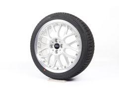MINI Velgen met Winterbanden R50 R52 R53 R55 Clubman R56 R57 R58 R59 17 Inch Styling Cross Spoke R90
