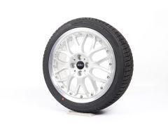 MINI Velgen met Zomerbanden R50 R52 R53 R55 Clubman R56 R57 R58 R59 17 Inch Styling R90