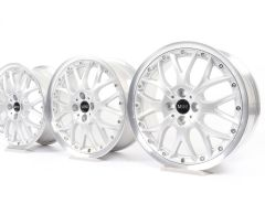 4x MINI Alufelgen R50 R52 R53 R55 Clubman R56 R57 R58 R59 17 Zoll Styling R90 Cross Spoke