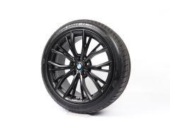 BMW Velgen met Zomerbanden 5 Serie G30 G31 8 Serie G14 G15 G16 19 Inch Styling 786 M Doppelspeiche