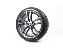 BMW Velgen met Zomerbanden 3 Serie F34 19 Inch Styling 598 M Doppelspeiche