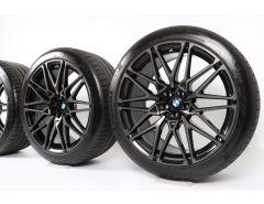 BMW Velgen met Zomerbanden X5M F95 X6M F96 21 Inch 22 Inch Styling 818 M Sternspeiche