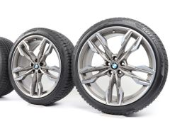 BMW Winter Wheels X3 G01 X4 G02 21 Inch Styling 718 M Doppelspeiche