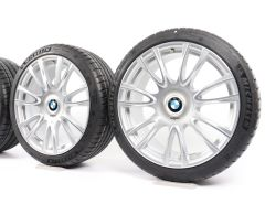 BMW Velgen met Zomerbanden 3 Serie F30 F31 4 Serie F32 F33 F36 19 Inch Styling 439 Individual V-Speiche