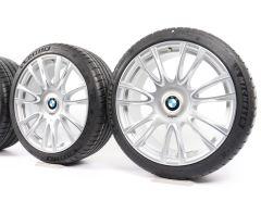 BMW Velgen met Zomerbanden 3 Serie F30 F31 4 Serie F32 F33 F36 19 Inch Styling 439 V-Speiche