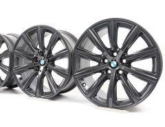 4x BMW Alloy Rims 5 Series G30 G31 6 Series G32 Styling 684 V-Speiche