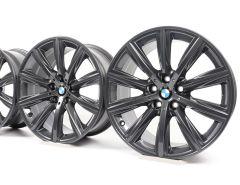 4x BMW Alufelgen 5er G30 G31 6er G32 Styling 684 V-Speiche