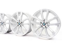 4x BMW Alufelgen X3 G01 X4 G02 19 Zoll Styling 691 V-Speiche