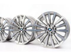 4x BMW Alufelgen 8er G14 G15 G16 19 Zoll Styling 731 W-Speiche