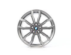 1x BMW Alufelge X1 F48 (ab 11/14) X2 F39 (ab 11/17) 18 Zoll Styling 711 Y-Speiche Y-Speiche