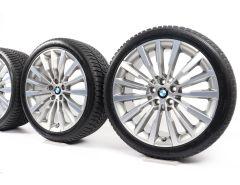 BMW Winterkompletträder 8er G14 G15 G16 19 Zoll Styling 731 Vielspeiche