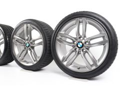 BMW Sommerkompletträder 1er F20 F21 2er F22 F23 18 Zoll Styling 461 M Doppelspeiche