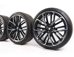 BMW Velgen met Zomerbanden 5 Serie G30 G31 20 Inch Styling 846 M V-Speiche