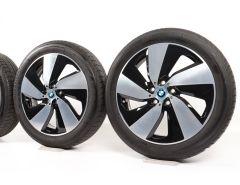 BMW Velgen met Zomerbanden i3 I01 (ab 08/13) i3s I01 (ab 11/17) 19 Inch Styling 429 Turbinenstyling