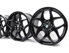 4x BMW Alufelgen X5 E70 F15 X6 F16 21 Zoll Styling 215 Doppelspeiche