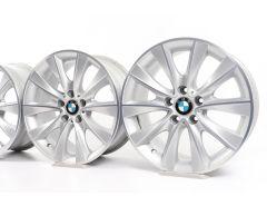 4x BMW Velgen 5 Serie F07 F10 F11 7 Serie F01 F02 F04 18 Inch Styling 425 V-spaak