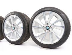 BMW Sommerkompletträder 3er F34 19 Zoll Styling 389 Turbinenstyling