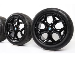 BMW Sommerkompletträder X1 F48 X2 F39 18 Zoll Styling 569 Y-Speiche